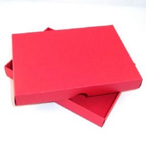 "5"" x 7"" Red Greeting Card Boxes For Handmade Cards"